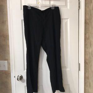 Cherokee Workwear Black Medium scrub pants EUC